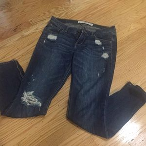 Juniors stretch jeans